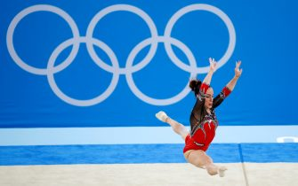 La ginnasta Vanessa Ferrari alle Olimpiadi di Tokyo 2020