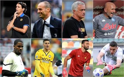 Serie A, 6 portieri e 12 allenatori: come cambia il campionato