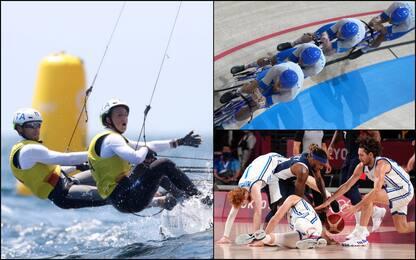 Olimpiadi, Tita-Banti oro nella vela. Fuori Italbasket e Italvolley