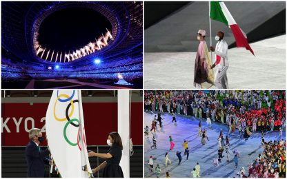 Olimpiadi Tokyo 2020, si chiudono i Giochi. Jacobs portabandiera