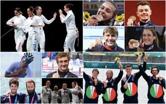 Atleti italiani che hanno vinto il bronzo a Tokyo 2020