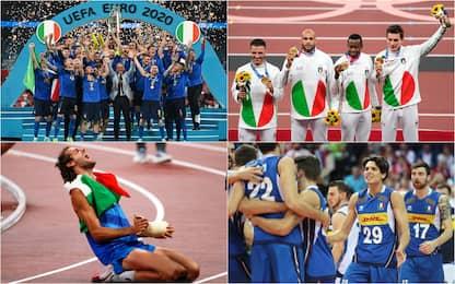 Dalle Olimpiadi al calcio, un anno di successi sportivi italiani. FOTO