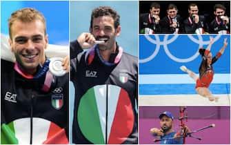 Atleti italiani che hanno vinto l'argento a Tokyo 2020