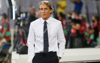 Coach Roberto Mancini of Italy during the FIFA World Cup Qatar 2022, Qualifiers Group C football match between Italy and Bulgaria on September 2, 2022 at Artemio Franchi stadium in Firenze, Italy