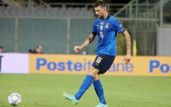 Francesco Acerbi of Italy during the FIFA World Cup Qatar 2022, Qualifiers Group C football match between Italy and Bulgaria on September 2, 2022 at Artemio Franchi stadium in Firenze, Italy