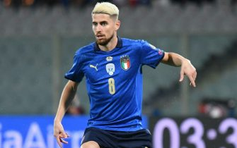 Jorginho in azione con la maglia della Nazionale