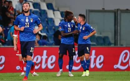 Qualificazioni Mondiali 2022, Italia-Lituania 5-0: la cronaca. FOTO