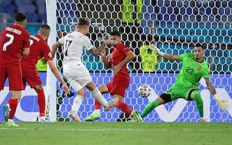 Il gol di Ciro Immobile in Turchia-Italia agli Europei del 2021