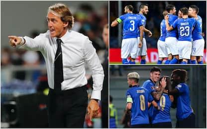 Italia imbattuta da 37 partite, il record della Nazionale di Mancini