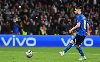 Jorginho segna il rigore decisivo con la Spagna a Euro 2020