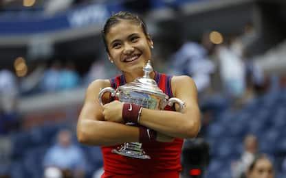 Tennis, Us Open: Emma Raducanu vince il torneo femminile