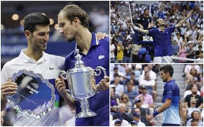 Us Open 2021,  vince Medvedev. Sfuma il sogno di Djokovic