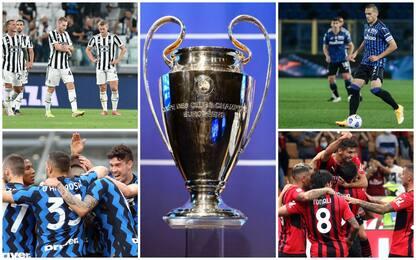 Champions League: squadre, gironi, calendario. Tutto quello da sapere