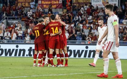 Conference League, Roma-Cska Sofia 5-1: doppietta di Pellegrini