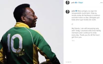 """Brasile, Pelé: """"Mi sto riprendendo molto bene, continuo a sorridere"""""""