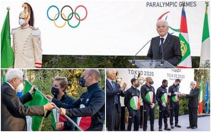 Gli azzurri delle Olimpiadi ricevuti al Quirinale da Mattarella