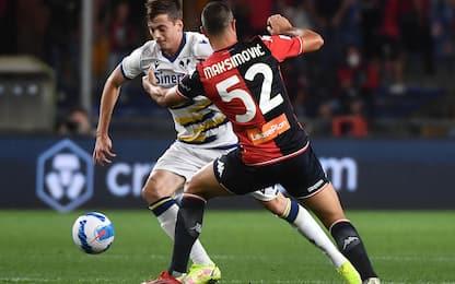 Genoa-Hellas Verona 3-3: video, gol, highlights del match di Serie A