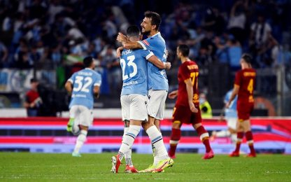 Lazio-Roma 3-2: video, gol e highlights della partita di Serie A