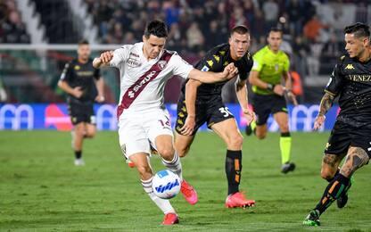 Venezia-Torino 1-1: video, gol e highlights della partita di Serie A