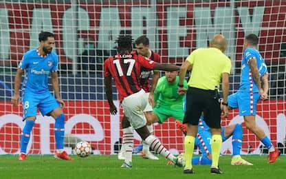 Champions League, Milan-Atletico Madrid 1-1. DIRETTA