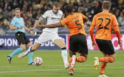 Champions League, l'Inter non sfonda: pari con lo Shakhtar Donetsk