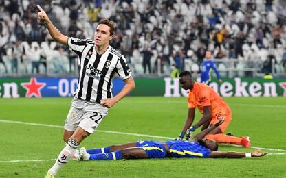 C.League, la Juventus batte il Chelsea 1-0. Atalanta-Young Boys 1-0