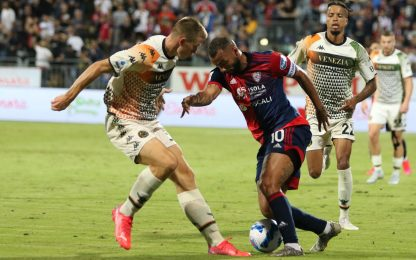 Serie A, Cagliari-Venezia 1-1: gol di Keita e Busio. HIGHLIGHTS