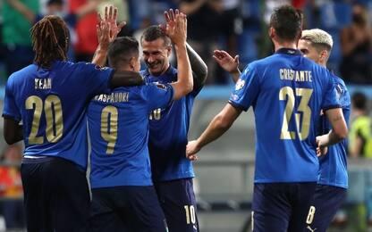 Italia-Spagna, i 23 convocati per la semifinale di Nations League