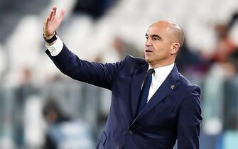 L'allenatore del Belgio Roberto Martinez