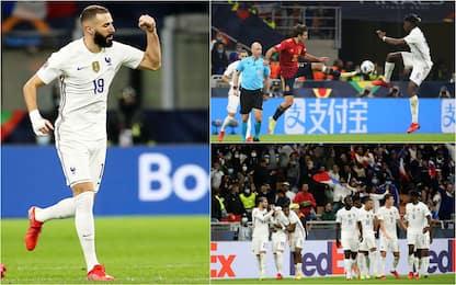 Nations League, Spagna-Francia 1-2: i Bleus vincono il torneo