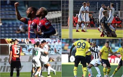 Serie A, Cagliari-Sampdoria 3-1. In corso altre tre partite. LIVE