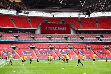 Finale Europei: Inghilterra, 2 gare a porte chiuse per scontri Wembley