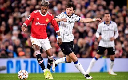Champions League, Manchester United-Atalanta 3-2