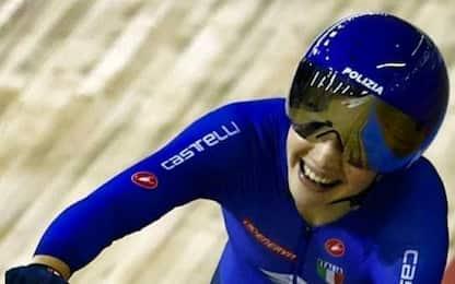 Mondiali di ciclismo su pista, oro per l'italiana Martina Fidanza