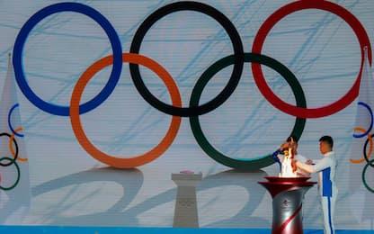 Olimpiadi invernali Pechino 2022: è arrivata la torcia olimpica