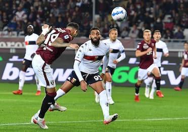 Serie A, Torino-Genoa 3-2. Stasera in campo Sampdoria-Spezia