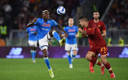Seria A, Roma-Napoli 0-0: espulsi Mourinho e Spalletti. HIGHLIGHTS
