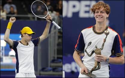 Tennis, Sinner batte Schwartzman e vince l'Atp di Anversa. FOTO