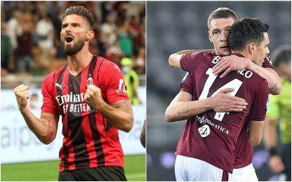 Serie A, Milan-Torino 1-0: la diretta