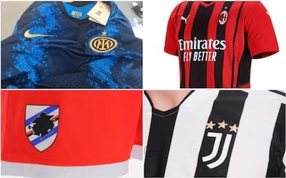 Serie A, le maglie (e le indiscrezioni) per la stagione 2021/2022