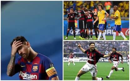 Dal Barcellona al Brasile: le sconfitte più pesanti di tutti i tempi