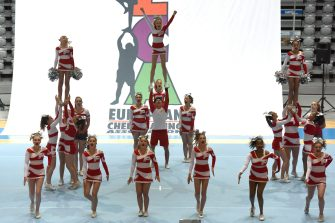 "27.06.2015., Croatia, Zadar -  Opening of  European   cheerleader Championship ""European cheerleading championships in 2015"". Today and tomorrow   their dance acrobatic skills will show more than 1,500 competitors. Photo: Dino Stanin/PIXSELL"