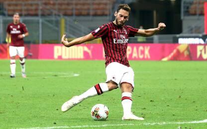 Calcio, è fatta per Calhanoglu all'Inter: domani le visite mediche