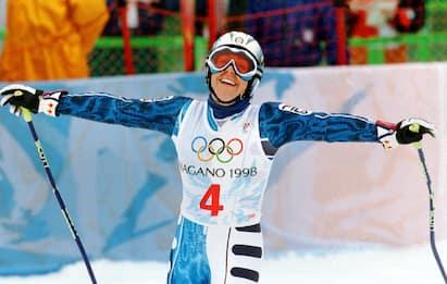 Auguri Deborah Compagnoni, la leggenda dello sci compie 50 anni. FOTO