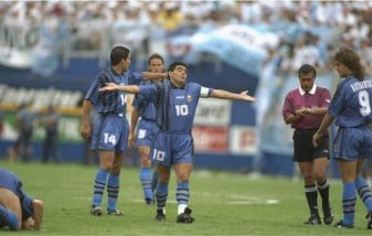 Diego Armando Maradona gol