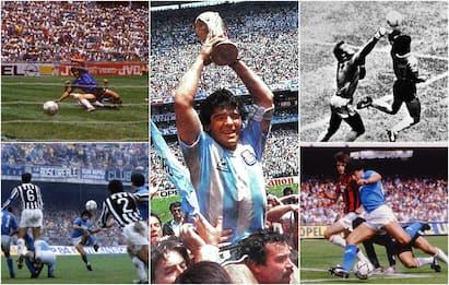 Maradona compie 60 anni: le 5 partite iconiche tra nazionale e club