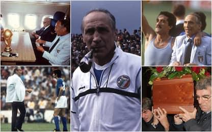 """Enzo Bearzot, 10 anni fa moriva il Ct dell'Italia """"Mundial"""" del 1982"""