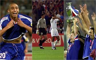 I momenti decisivi della finale degli Europei 2000 tra Italia e Francia
