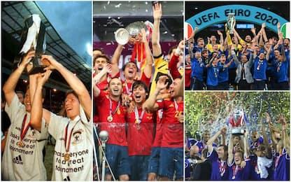Europei, quali Paesi ne hanno vinti di più: l'albo d'oro del torneo