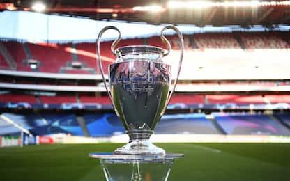 Sorteggi Champions League: data, orario, criteri e fasce per i gironi